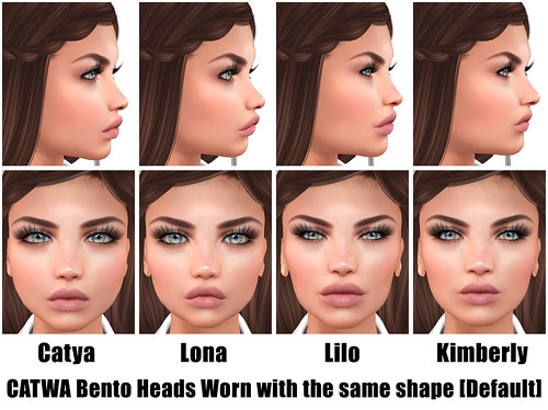 CATWA Bento Female Heads