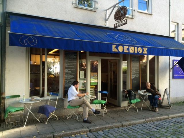 Café KönigX in Stuttgart