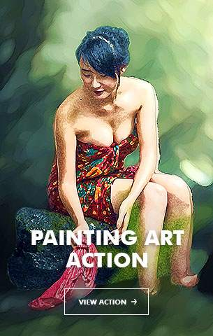Mix Oil Painting Photoshop Action - 93