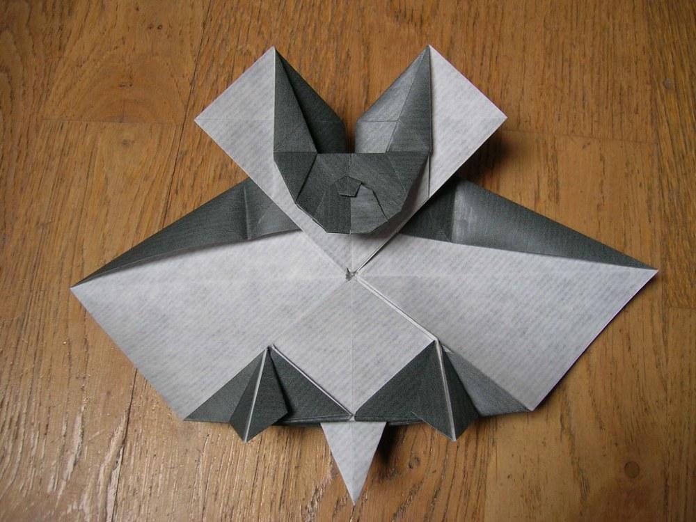 medium resolution of tessellation bat creator anna kastlunger diagram here 3d origami fat penguin instructions 3d origami naruto