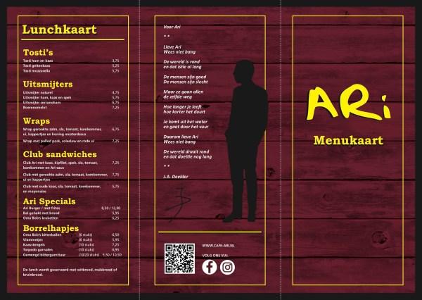 De bestsellers op nieuwe kaart Café Ari