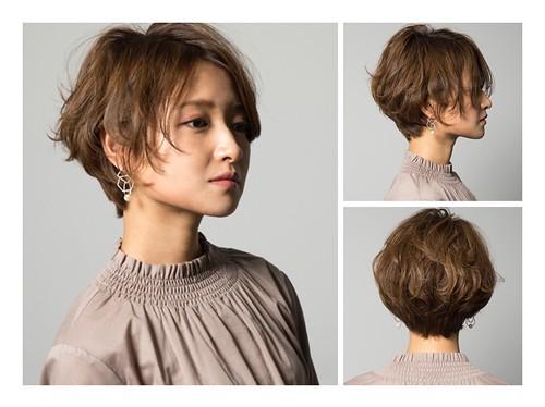 女短髮 中分 日系韓系髮型參考 | 尚洋Benson 班森 | Flickr