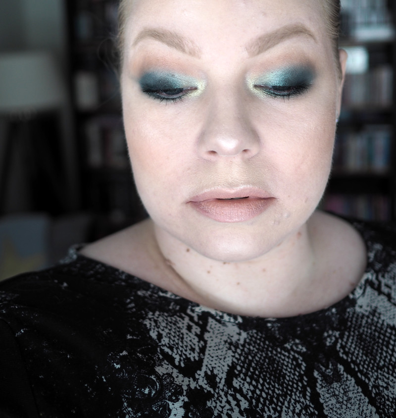 green march st patrick's day makeup