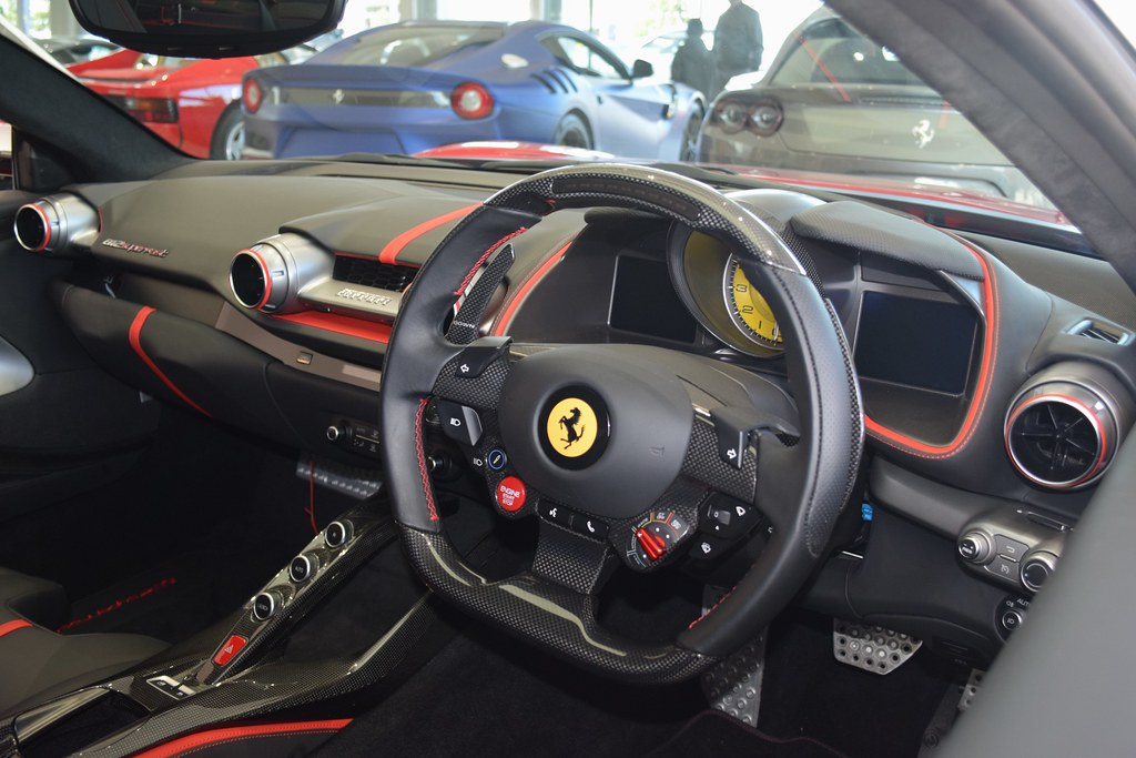 Ferrari 812 Superfast Interior Jambox998 Flickr