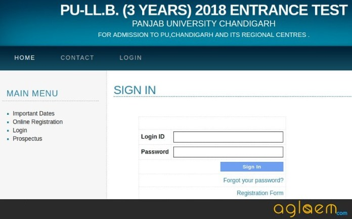 PU LLB 2018 Admit Card - To be released by PU on 07 June  %Post Title | AglaSem