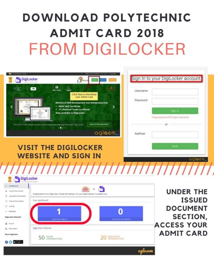 JEECUP 2018 Digilocker