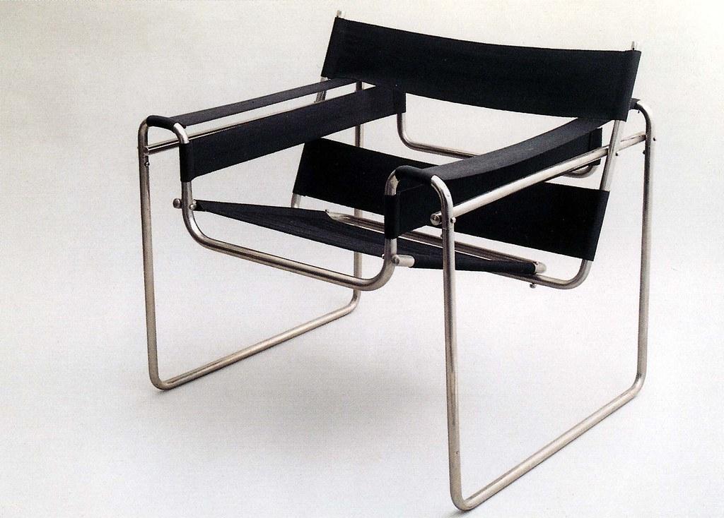 Bauhaus  Famous chair designed by Marcel Breuer 192526