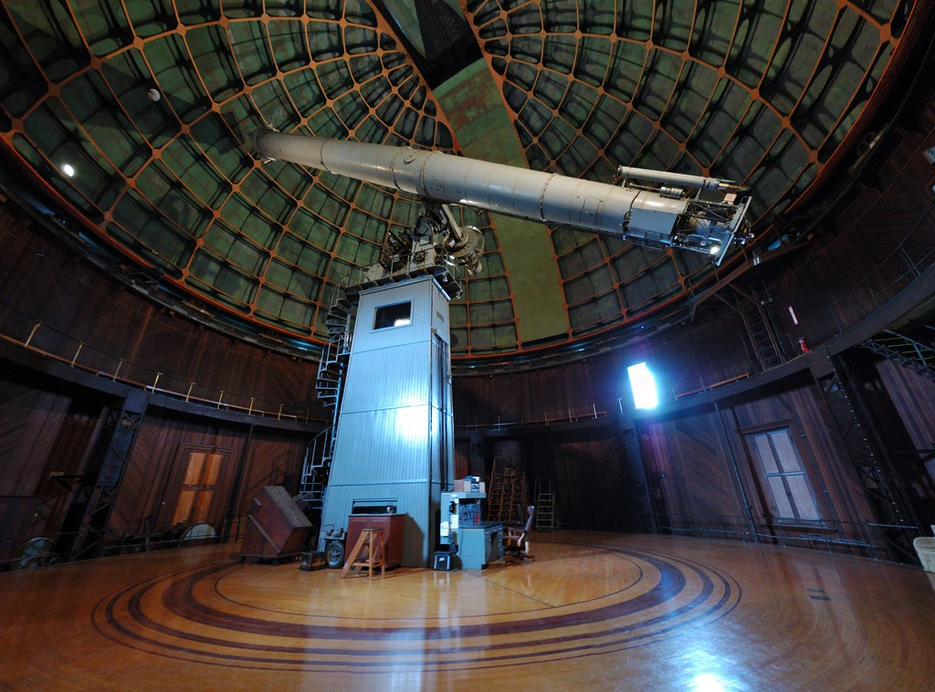 The Lick Observatory 36inch refractor telescope  This is