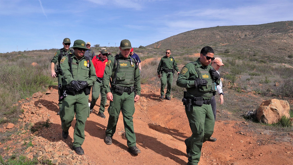 San Diego Technology Demo  US Border Patrol agents with