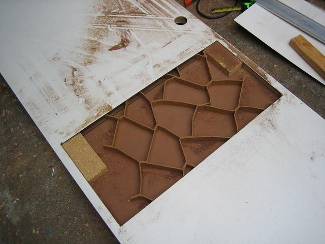 Door Innards This Is How Hollow Core Doors Are Put
