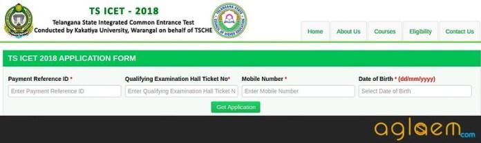 TS ICET Registration 2018
