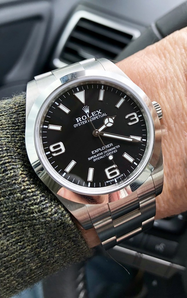 Rolex Explorer  The Watch 2016 Rolex Explorer 214270 the