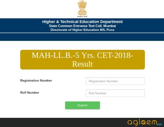 MH Law CET Result 2019