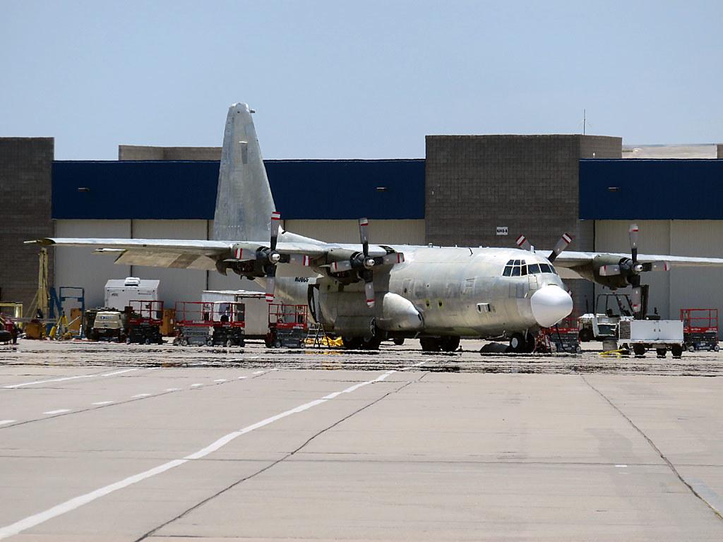 N130CG  Mesa Williams Gateway Lockheed EC130Q Hercules
