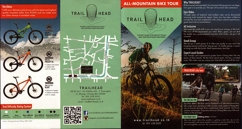 Brochure Trailhead - Day Tours Chiang Mai Thailand 1