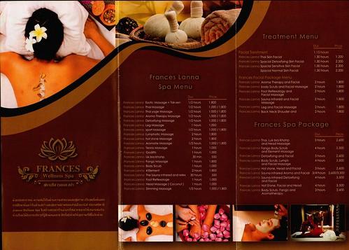 Brochure Francess Wellness Spa Chiang Mai Thailand 2