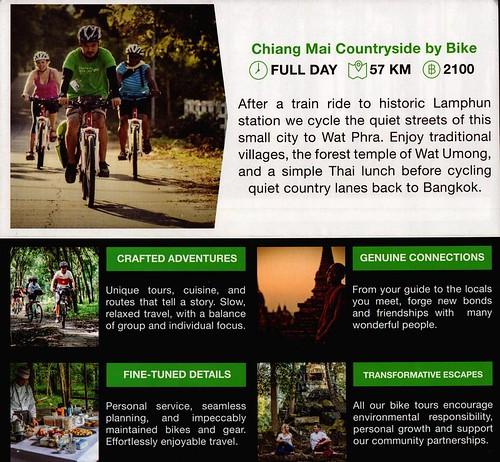 Brochure Grasshopper Adventures Chiang Mai Thailand 3