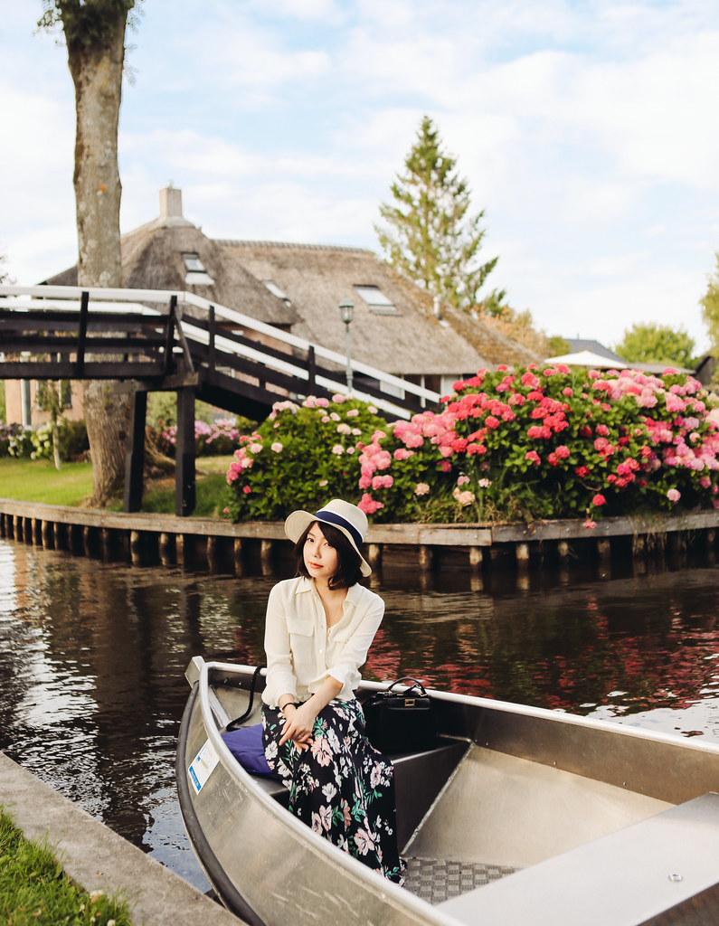 ▌荷蘭 ▌人間仙境:羊角村(Giethoorn)一日遊