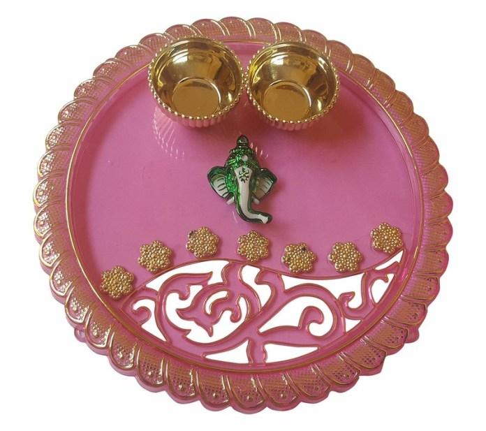 rakhi thali handmade how to make