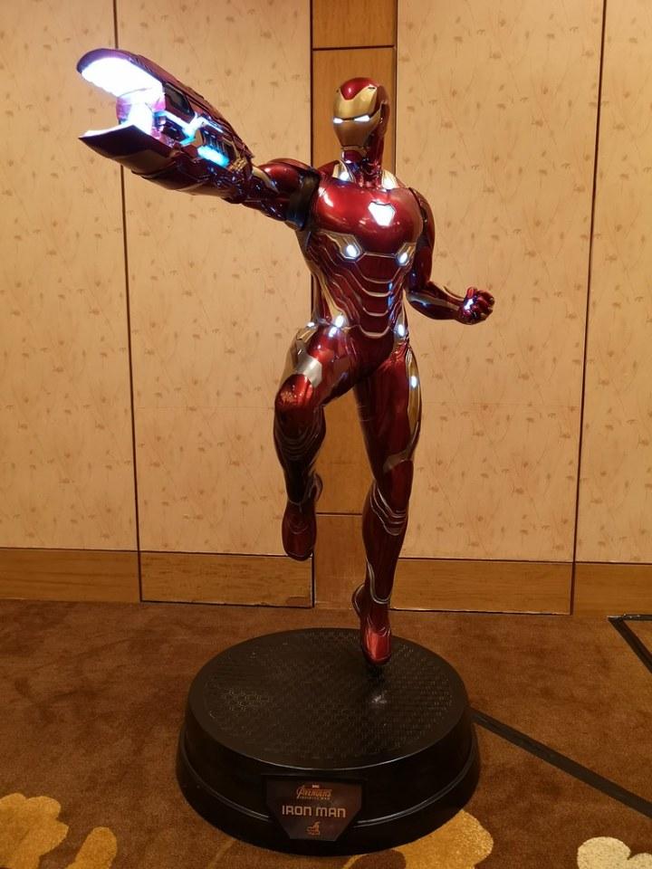 Iron Man's latest suit.