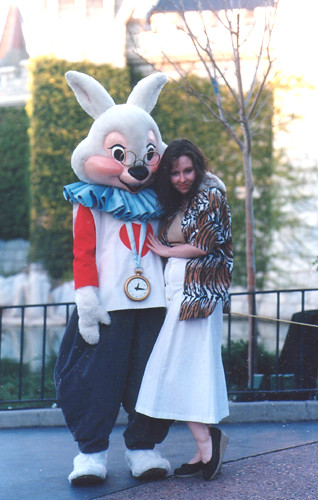 White Rabbit  Disneyland 1988  Diana  Flickr