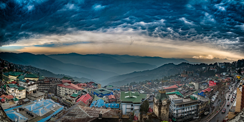 Panoramic View of Darjeeling  Darjeeling by Saurabh