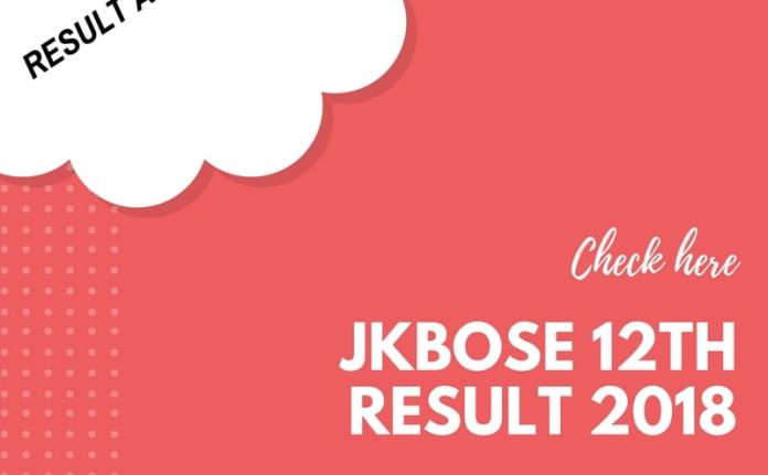 JKBOSE 12th Result 2018 Jammu Annual Summer Zone