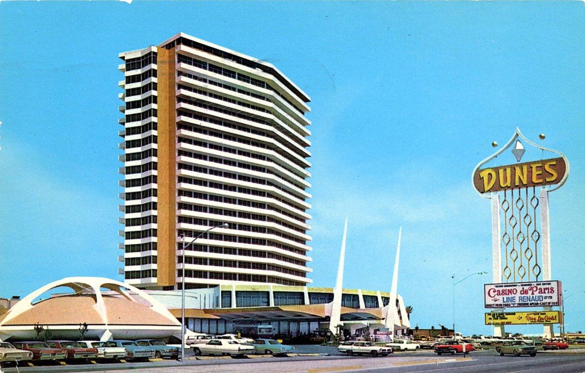 The Dunes Hotel - Las Vegas, Nevada U.S.A. - 1960's