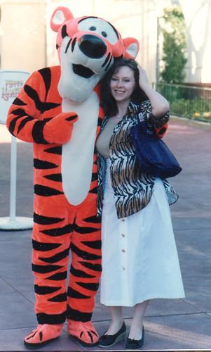 Tigger Disneyland 1988 Diana Flickr