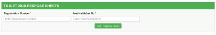 TS ICET 2019 Response Sheet