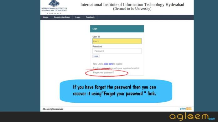 IIITH PGEE 2018 Admit Card
