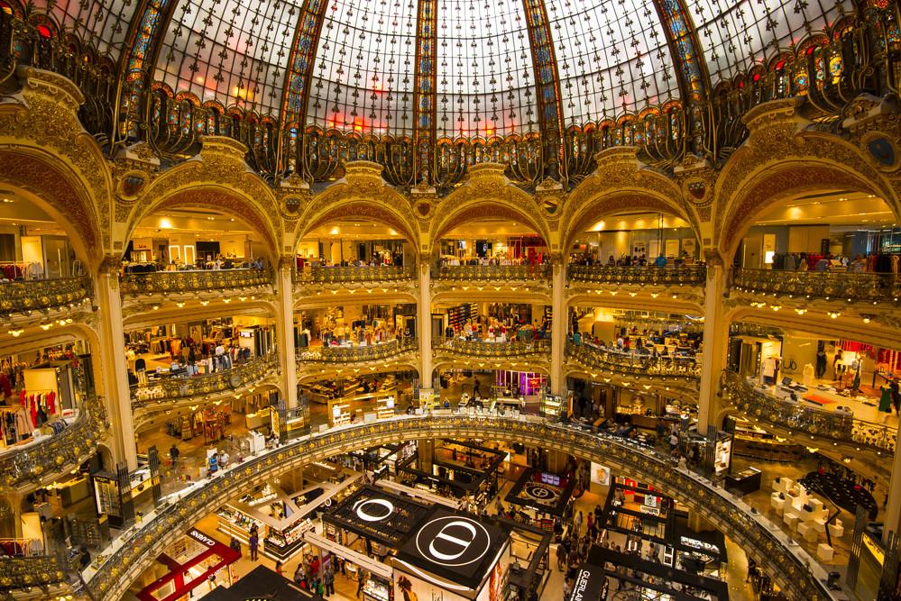 Galeries Lafayette Paris Haussmann Galeries Lafayette Is