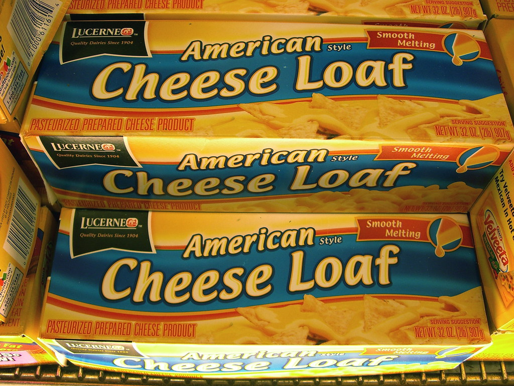 American cheese loaf  Mmmcheese loaf  WordRidden