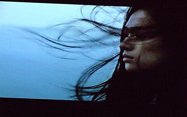 zhang ziyi - hair in wind