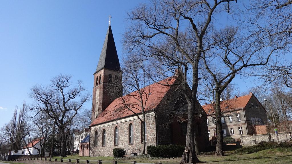 1897/98 Berlin neogotischer Umbau der Dorfkirche Biesdorf … Flickr