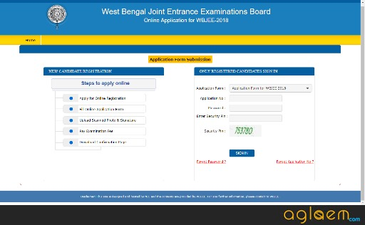 WBJEE 2018 Admit Card