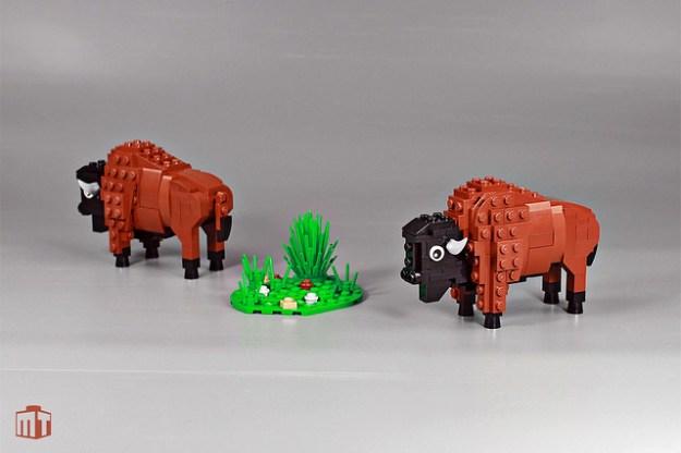 LEGO Bison