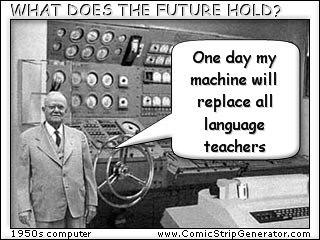 1950s Computer Made With Cartoon Generator Graham