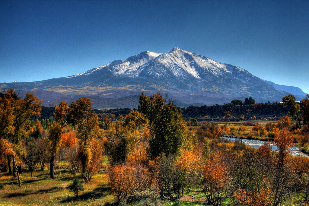 Free Wallpaper Pictures Of Fall Mt Sopris This Is A Hdr Shot Of Mt Sopris As Viewed From