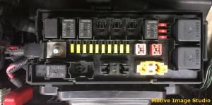 2006 Commander XK PDC & Interior Fuse Block   Jeep Off
