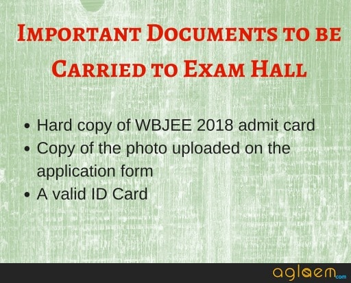 WBJEE 2020 Admit Card Download