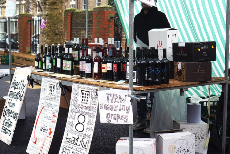 Brevevita organic wines from Italy in Stroud Green Market | Finsbury Park | North London | My gluten free guide to Stroud Green Market