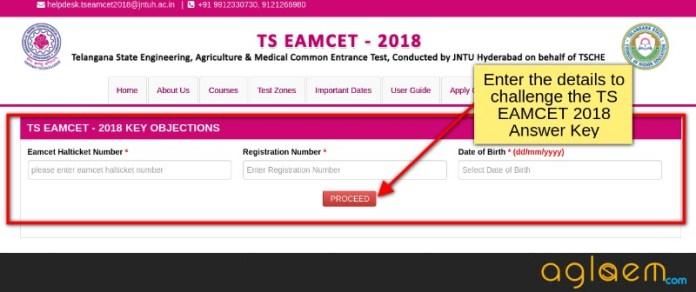 TS EAMCET 2018 Answer Key