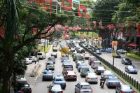 Another low traffic day in Singapore | Who says a city tax ...
