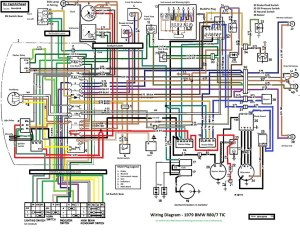BMW R807 TIC updated wiring diagram | This wiring diagram