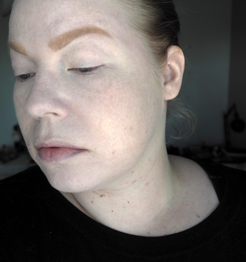 colourpop no filter foundation brows