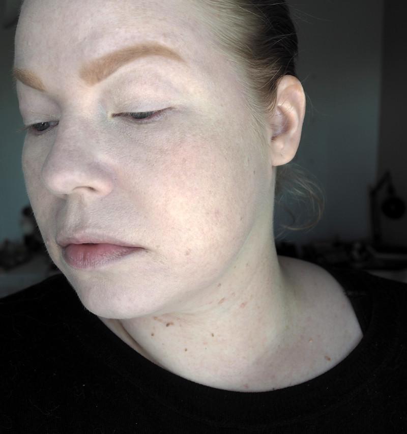 colourpop no filter foundation brows