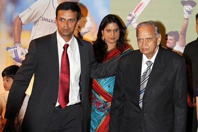 rahul dravid family