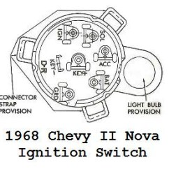 Wiring Diagram For Chevy Ignition Switch 3 Way Light 68 Camaro Team Tech Since You Don T Have The Plug Housing Could Figure Out What Wire Is And Then How Operates As Far Making Breaking Different