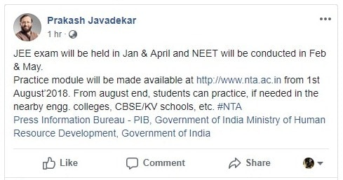 NEET 2019: NTA, Online Test, Twice A Year, Exam Dates (Confirmed)